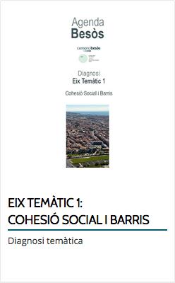 EIX TEMÀTIC 1: COHESIÓ SOCIAL I BARRIS