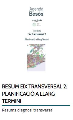 RESUM EIX TRANSVERSAL 2: PLANIFICACIÓ A LLARG TERMINI